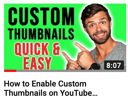 how to add thumbnail to youtube videos 2019