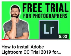 How to get lightroom free
