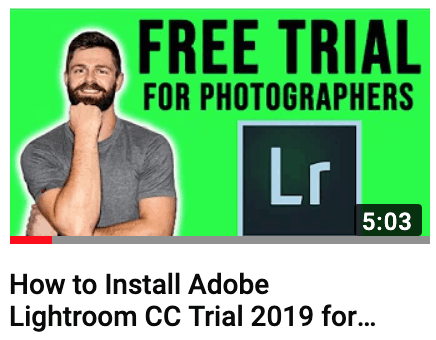 How to get lightroom free