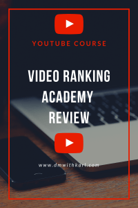 video ranking academy 2.0 Review